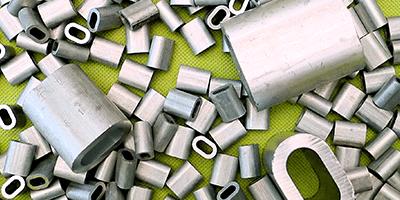 Manicotti in alluminio