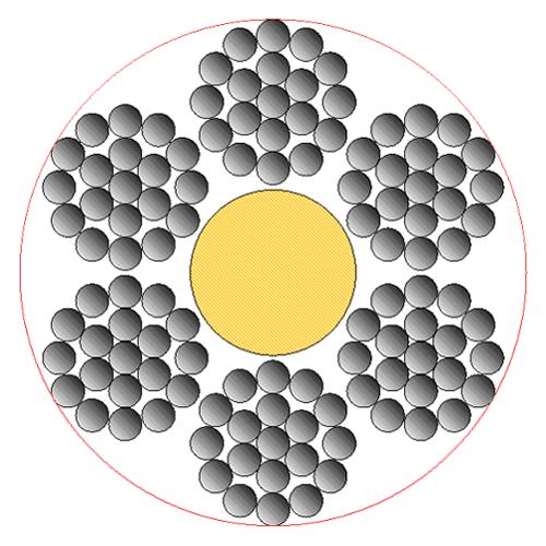 Cavo-in-acciaio-zincato-6×19+AT/AM