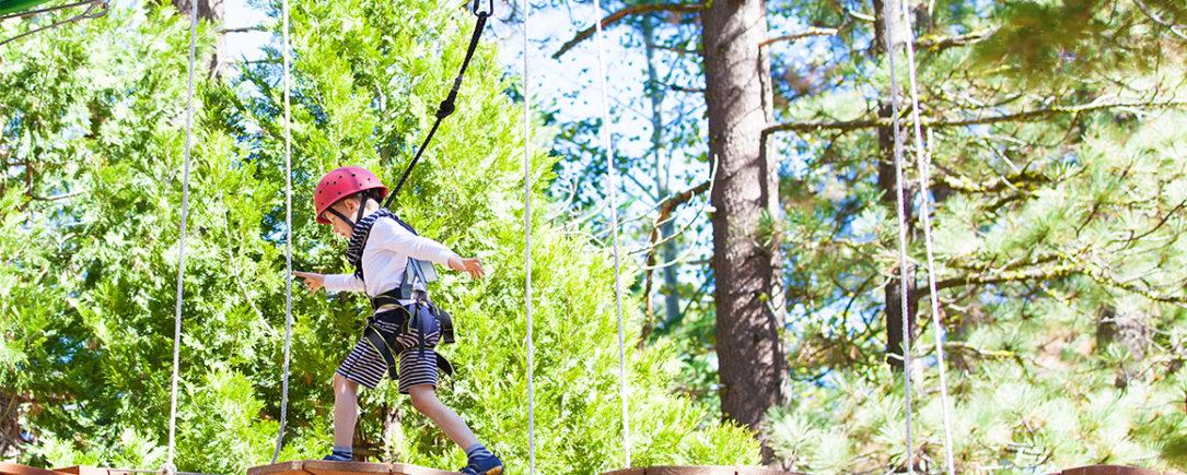 Cuerda de alambre para parques de aventura: diversión y seguridad
